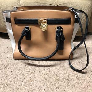 Michael Kors large satchel - excellent condition!